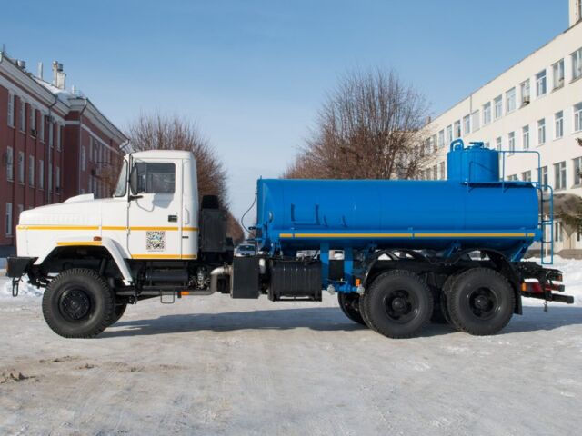 Автоцистерны КрАЗ будут перевозить нефтепродукты в филиалах «Укрнафты»